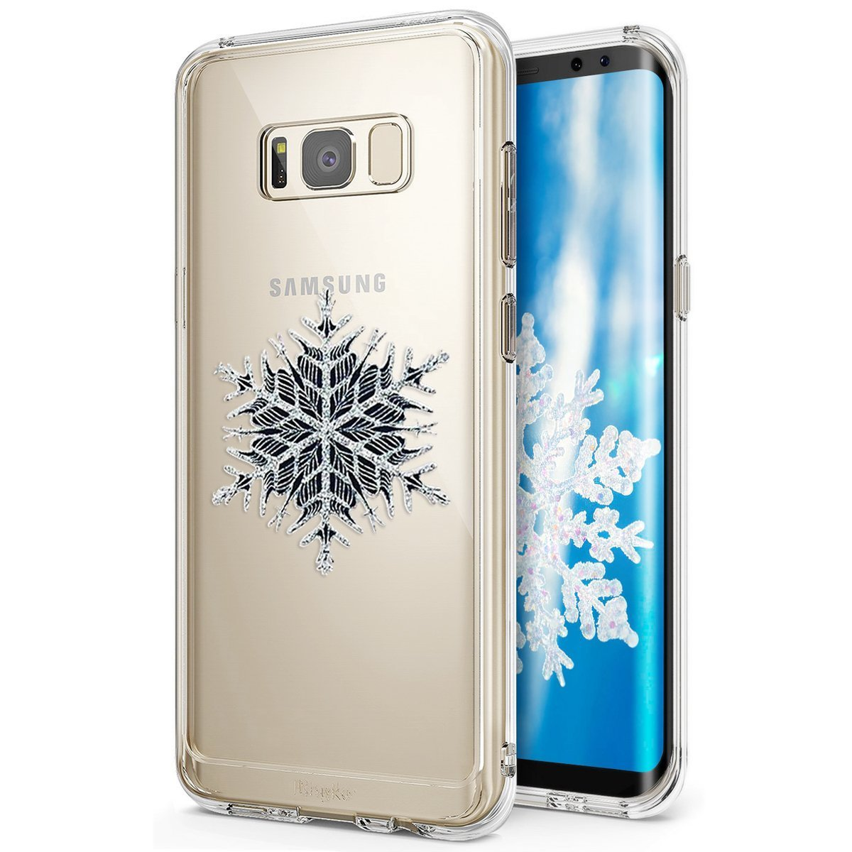 Hü lle fü r Samsung Galaxy S8,Samsung Galaxy S8 Silikonhü lle, Herbests Samsung Galaxy S8 Transparent Schutzhü lle Silikon Handyhü lle Ultra Slim Crystal Clear,Ultra Dü nn Case Schlank Etui Bumper-Style Premium Kratzfest Soft