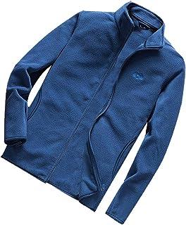 ITISME Herren Pullover Männer Winter warme Feste Jacke Mantel Outwear schlank Zipper Coat Tops Bluse Sunset
