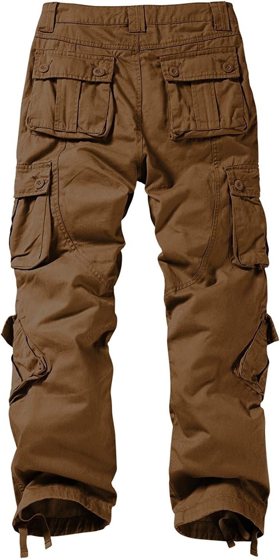 Matchstick Mens Retro Casual Cargo Trousers #3357