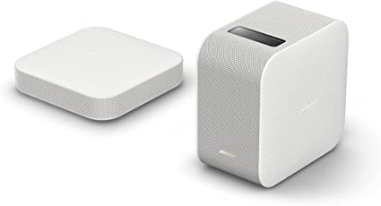 Sony LSPX-P1 Portable Ultra Short Throw Projector with WiFi/Bluetooth, Wireless HDMI Unit, Compatible with Android & iOS