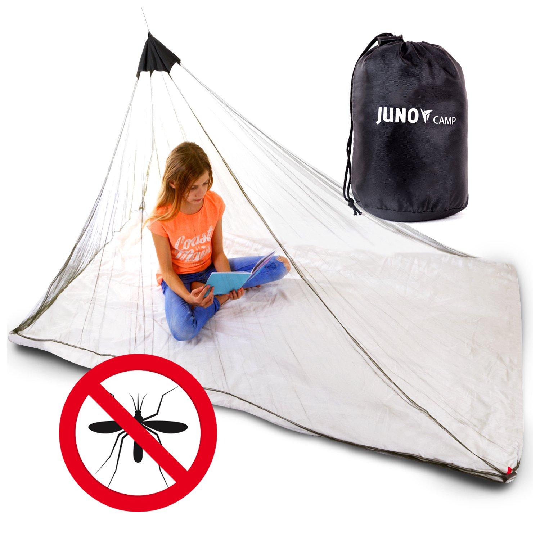 Junocamp Persönlichen Moskitonetz für Camping und Reisen, Armee Grün