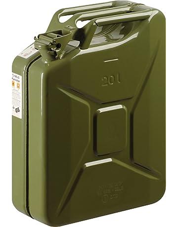 S STYLE - Garrafón de metal 20 Litros, color Verde