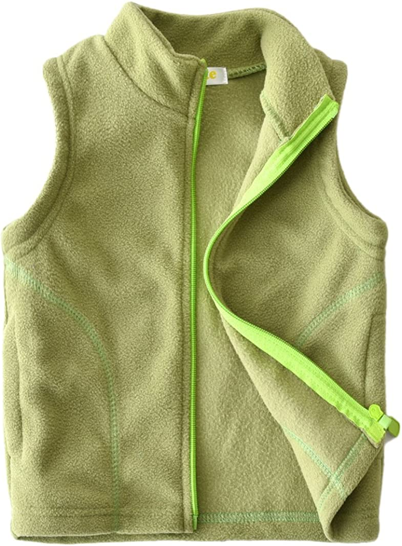 Dalary Baby Boys/&Girls Polar Fleece Sleeveless Jacket Outerwear Vests