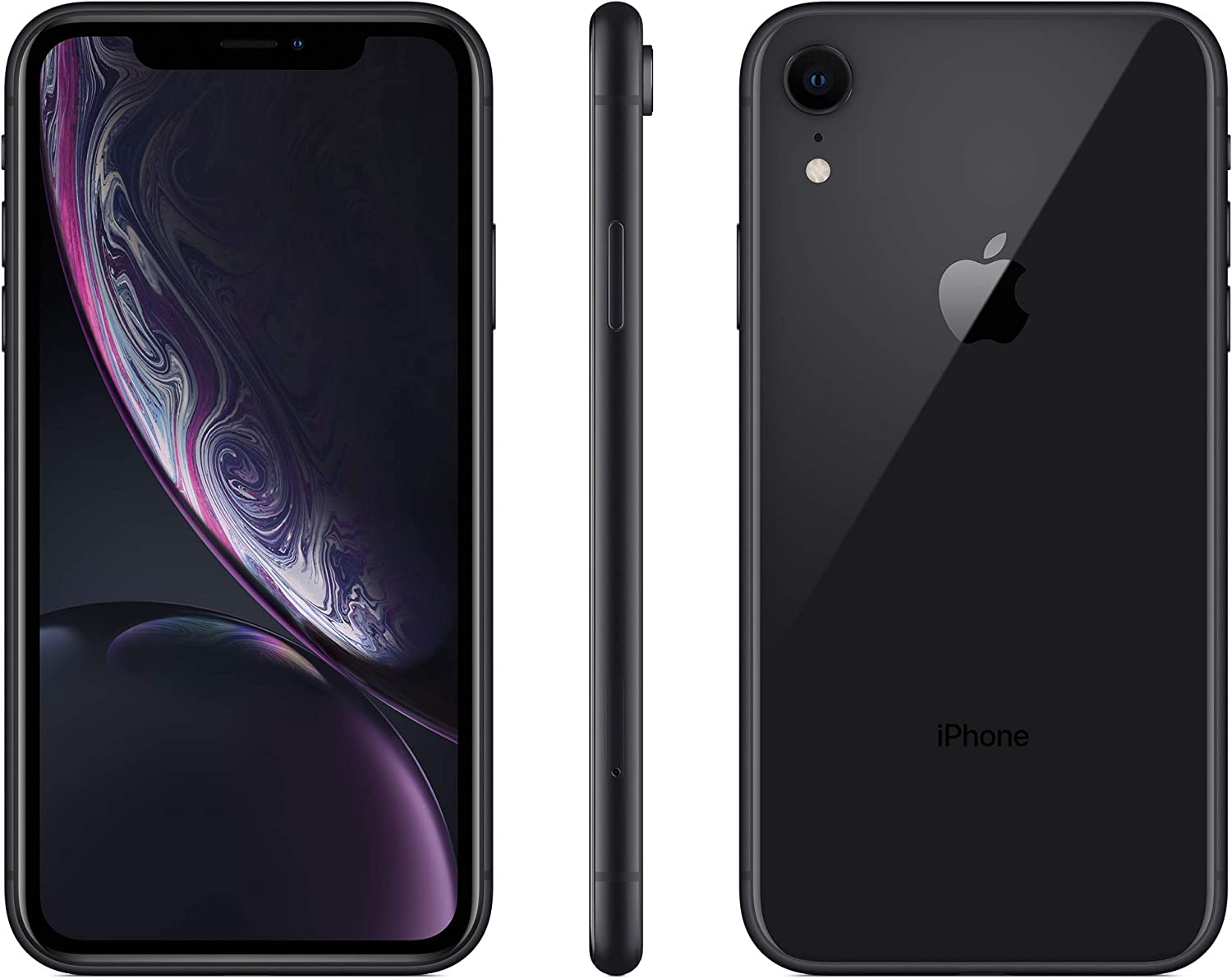 Apple iPhone XR, 64GB, Black -For AT&T / T-Mobile (Renewed)