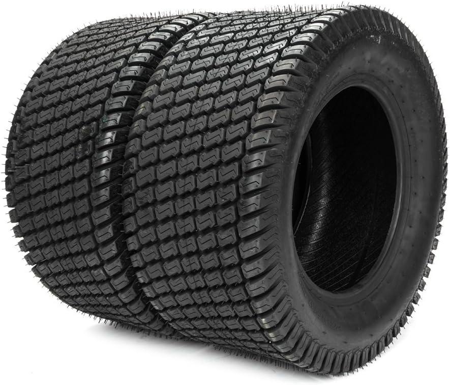 MILLION PARTS set of 2 23x10.50x12 Turf Tires Lawn & Garden Mower Tractor Cart Tire P332-23x10.50-12