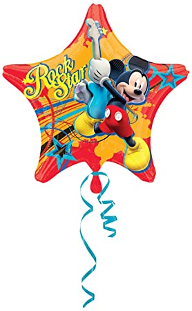 Amscan - Globos Mickey Mouse (2740001): Amazon.es: Juguetes ...