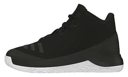 Adidas Outrival 2016 K, Zapatillas de Baloncesto para Niños, Negro (Negbas/Escarl/Ftwbla), 30 EU