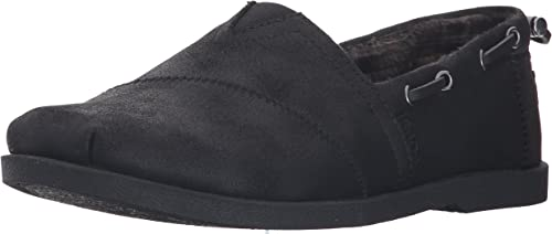 Black cloth Bobs by Skechers. Size 10