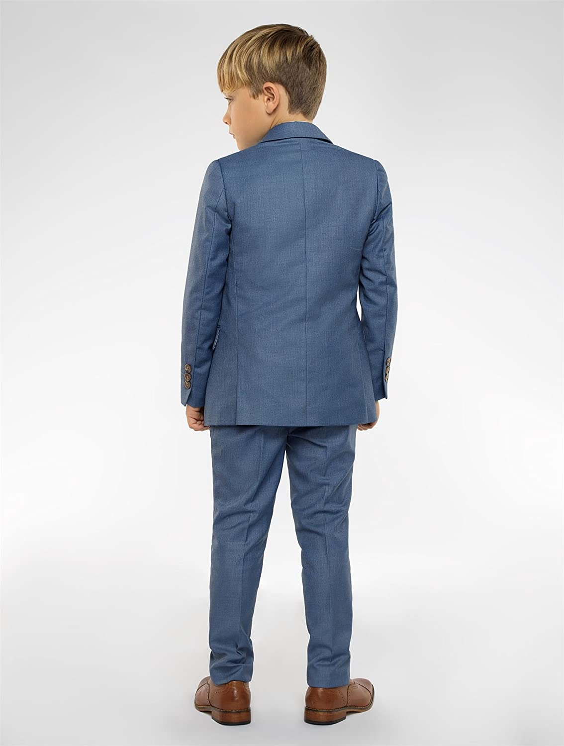 Paisley of London Boys Chambrey Suit, Boys Wedding Suits, Page boy ...