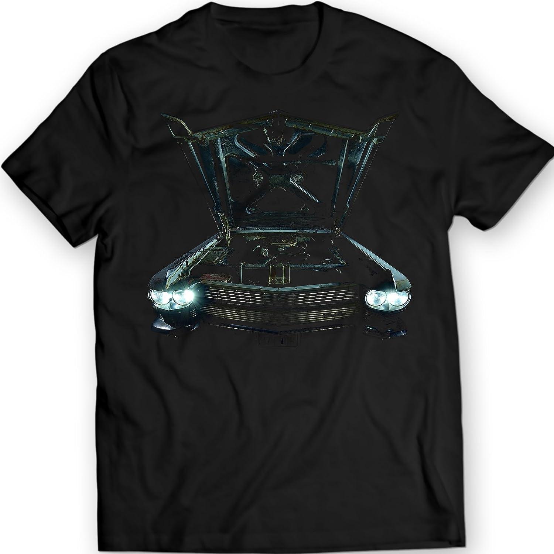 DTG Printing Cadillac DeVille 1964 Camiseta Auto Antiguo: Amazon.es: Ropa y accesorios
