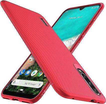 iBetter para Xiaomi Mi A3 Funda, Fina de Silicona Funda, para ...