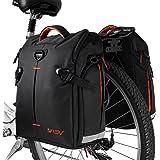Amazon.com : Ibera Bike Trunk Bag - PakRak Clip-On Quick