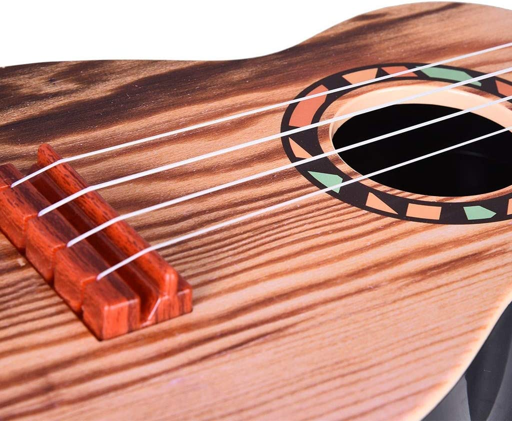 Multicolour 21 Inches Ukulele Kids Toys Mini Guitar Musical Instrument Ukulele Starter Kit Profession