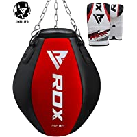 RDX Punch Bag UNFILLED Heavy Boxing Uppercut Wrecking Ball Maize MMA Punching Training Sparring