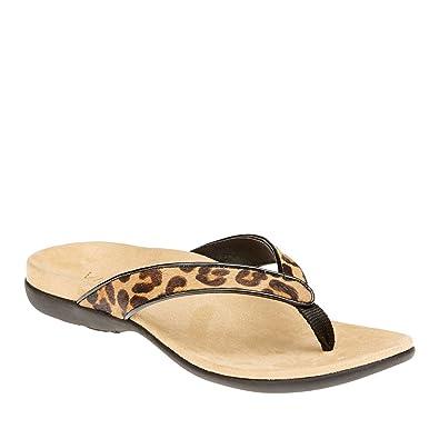 b7c507e99e30 Vionic with Orthaheel Technology Womens Selena Sandal Tan Leopard Size 6 UK  Size   4  Amazon.co.uk  Shoes   Bags