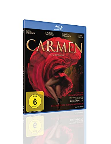Carmen OmU - Restaurierte Jubiläumsedition Francia Blu-ray ...