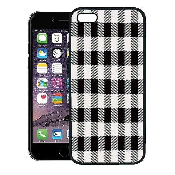 outlet store f6ed8 625c5 Amazon.com: Semtomn Phone Case for iPhone 8 Plus case,Buffalo Black ...