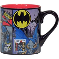 Batman Comic Panels 14oz Ceramic Coffee Mug