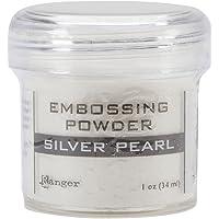 Ranger Goffratura Polvere 1Oz Jar-Silver Pearl