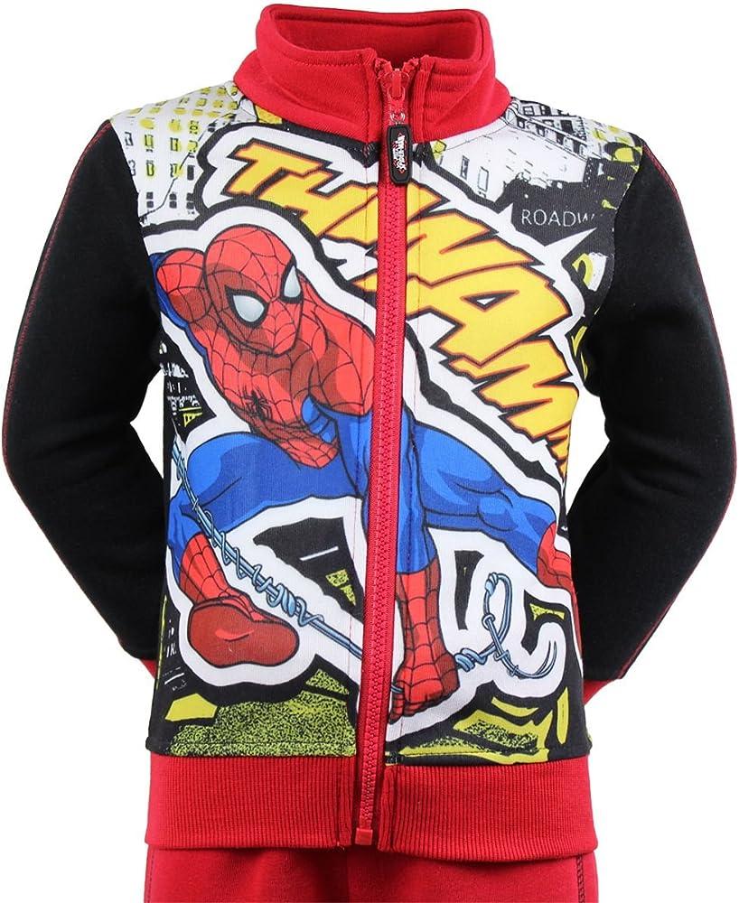 Spiderman - Chándal - para niño rojo rosso 5 Años: Amazon.es: Ropa ...