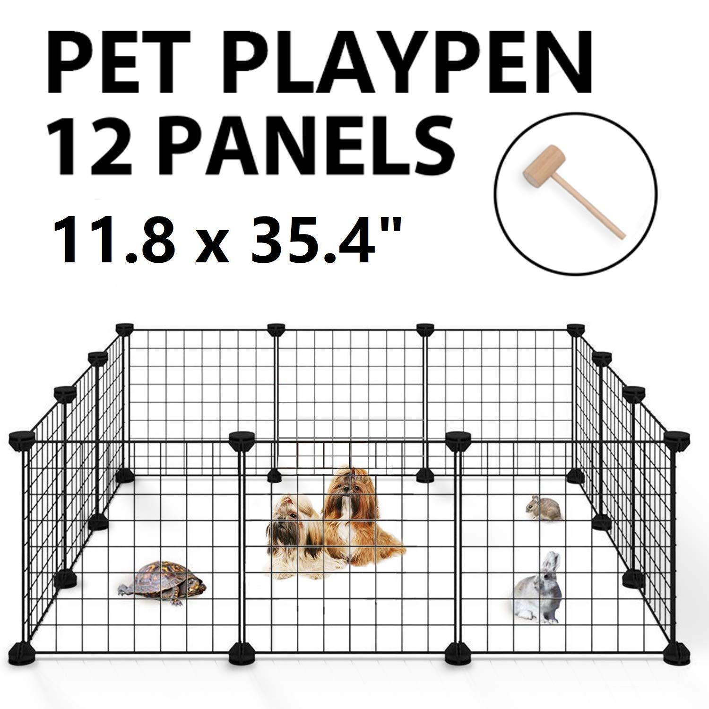 Allisandro Small Pet Playpen Cage for Indoor