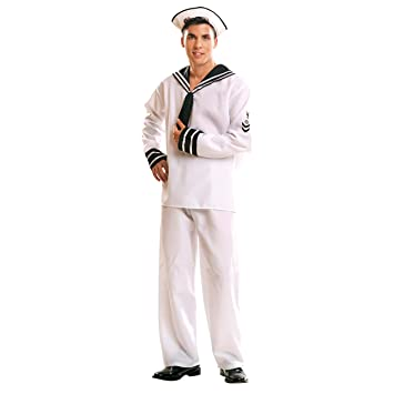 My Other Me - Disfraz de Marinero para adultos, talla XXL (Viving ...