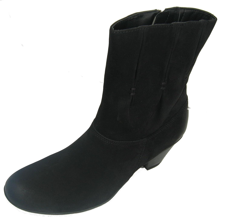 CAPRICE 9-25314-29 Damen Stiefelette Leder schwarz