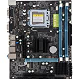Fosa デュアルコアデスクトップコンピュータマザーボード P4 / PD / PentiumデュアルコアE2XXX、Celeron4XXX / Wolfdale、LGA 775シリーズプロセッサ用 800MHz USB 2.0 DDR2マザーボード