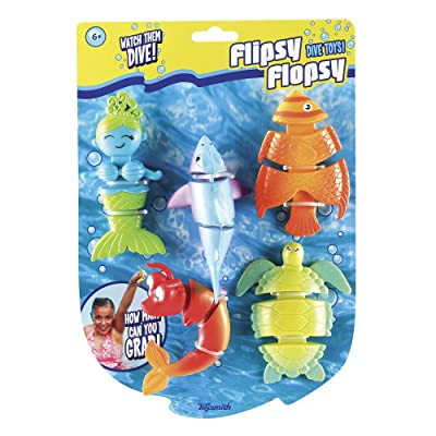 Toysmith Flipsy Flopsy Dive Toy Set: Toys & Games