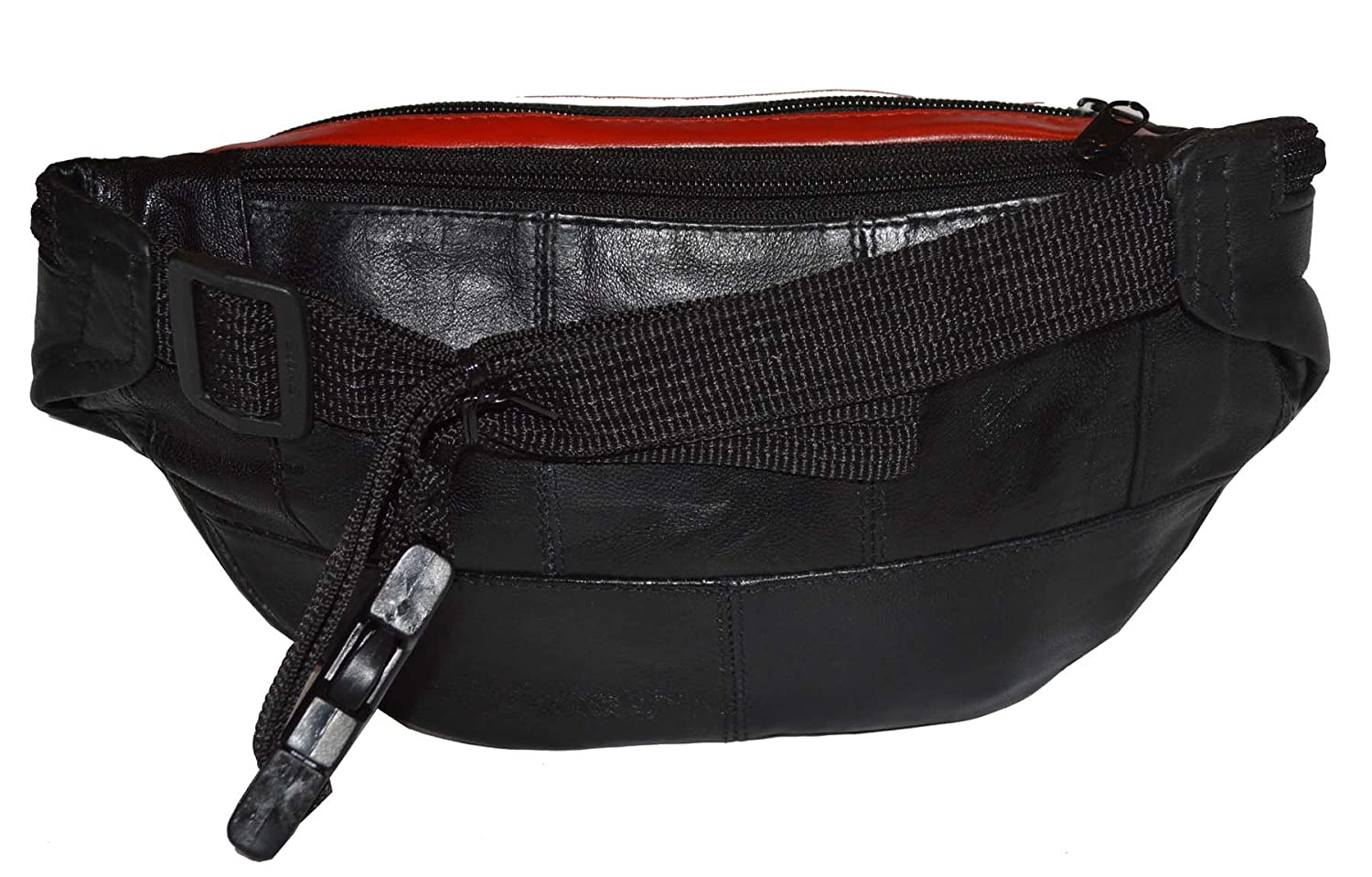 Leather Flag Fanny Pack