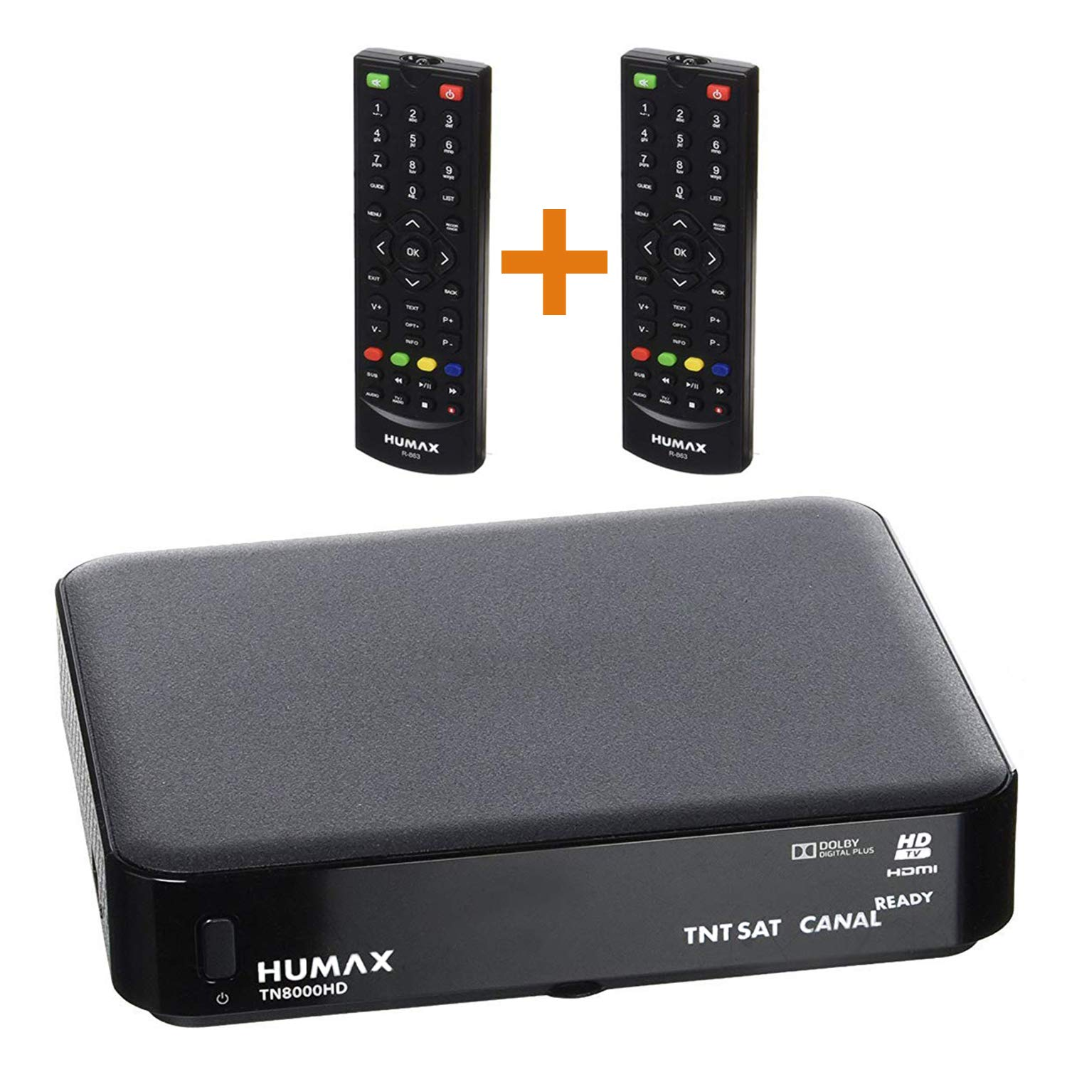 TNTSAT Satellite Receptor TNT decodificador - Humax tn8000hd + ...