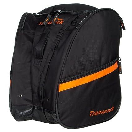 5ac2984985 Amazon.com   TRV Pro Boot Bag Color  Black w  Orange Electric ...