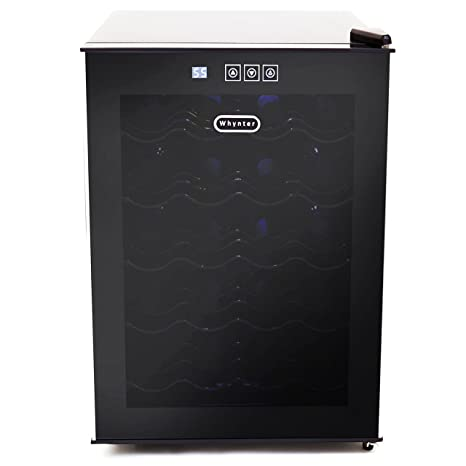 Amazon Whynter 20 Bottle Thermoelectric Wine Cooler With Black