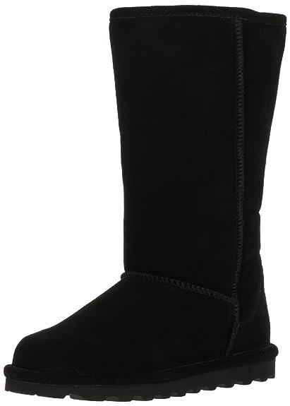 BEARPAW Women's ELLE Tall Fashion Boot, Black II, 8 M US