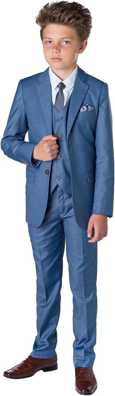 Kids Wedding Suit Sampson Slim Fit Suit Boys Occasion Wear Paisley of London X-Large 20