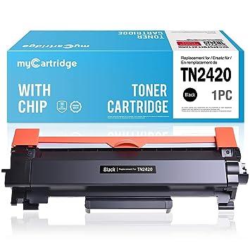 MyCartridge - Tóner Compatible con Brother TN-2420 TN2420 (con ...