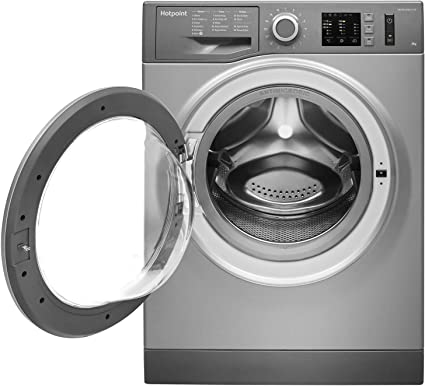 Hotpoint NM10844GSUK A+++ Rated Freestanding Washing Machine - Graphite [Energy Class A+++]