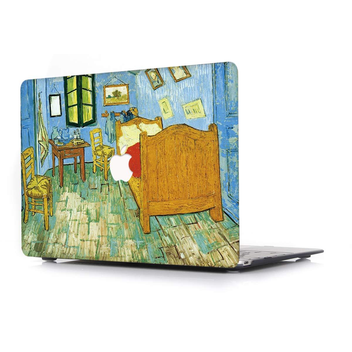 Modelo A1466//A1369 Port/átiles Accesorios Pl/ástico Imprimir R/ígida Protecci/ón Pintura al /óleo Dise/ño Cover,La habitaci/ón L2W Funda Dura para Apple MacBook Air 13,3 Pulgadas Old