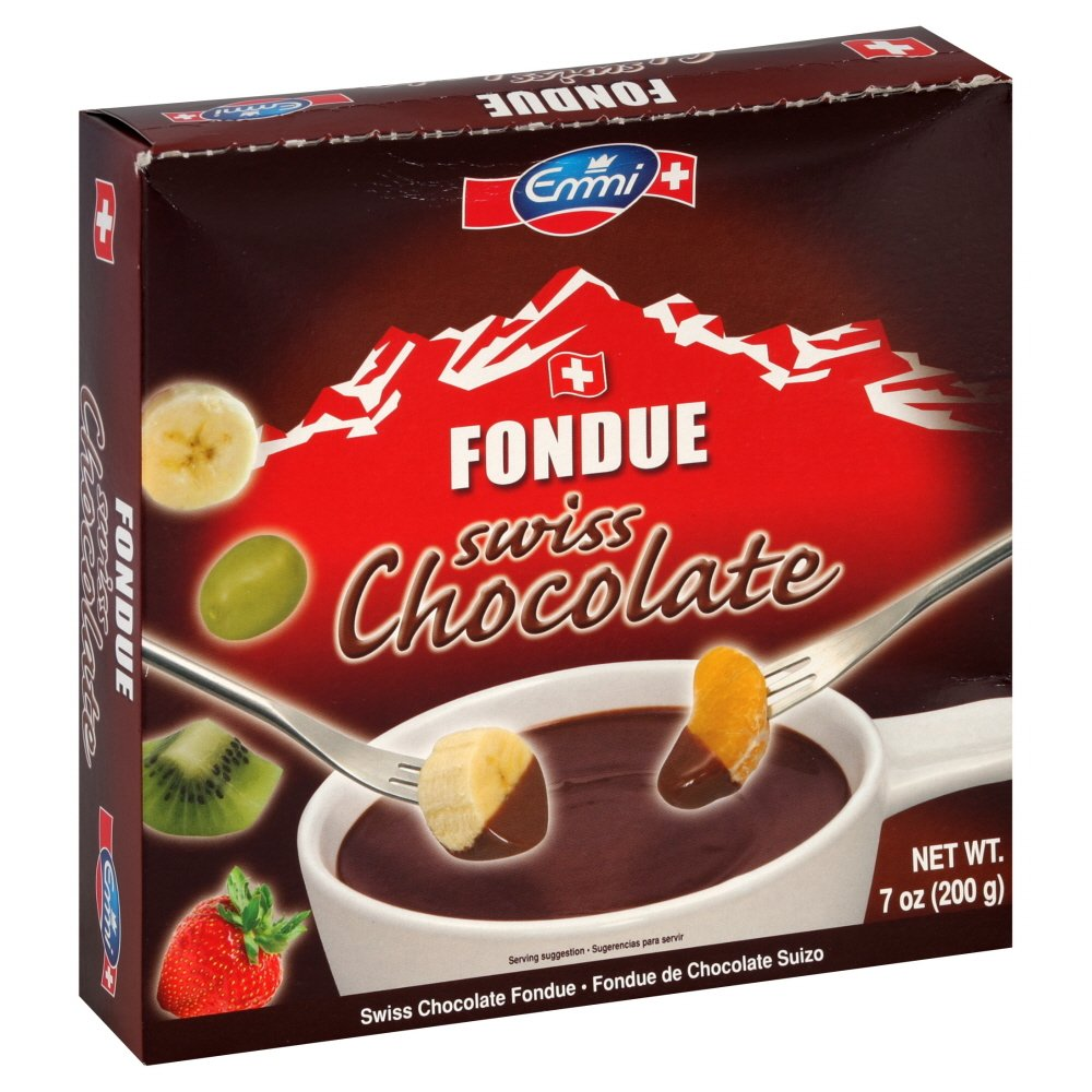 Amazon.com : Emmi Fondue, Swiss Chocolate, 7-ounces : Chocolate ...