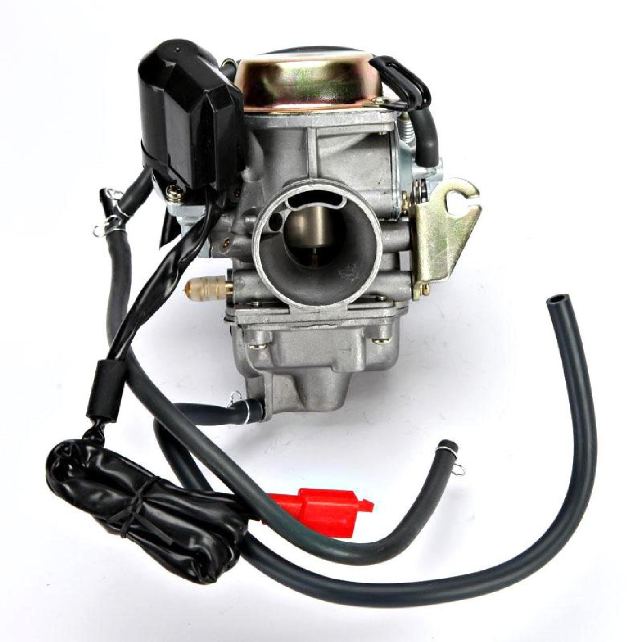 INNOGLOW 1PC Motorcycle Carburetor 150cc Scooter Roketa SUNL Go Kart FREE Filter GY6 GY6 Carb 150cc PD24