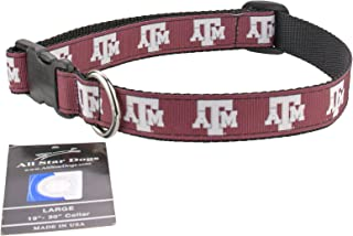 product image for All Star Dogs Texas A&M Aggies Ribbon Dog Collar