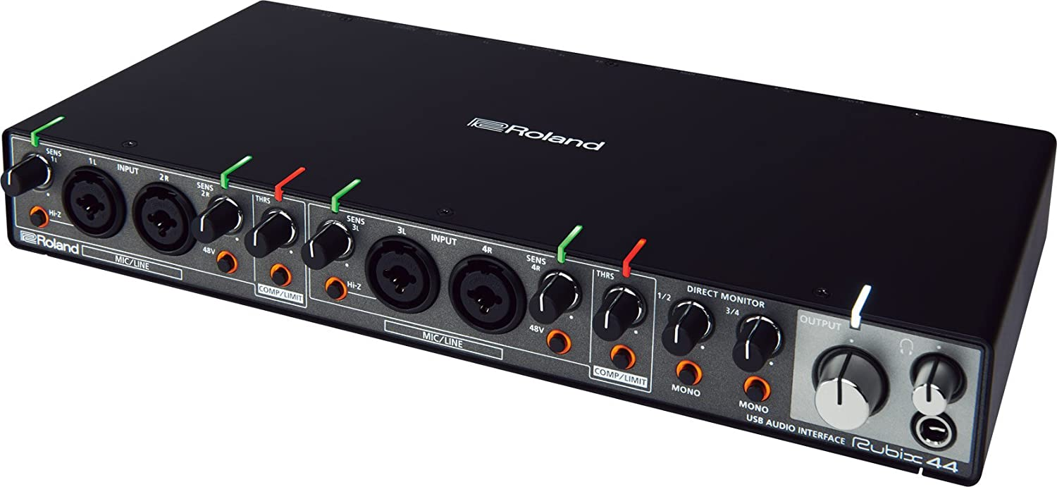 Roland Rubix22 USB Audio Interface, 2-In/2-Out
