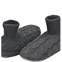 Panda Bros Fluffy Slipper Socks with Non Slip House Lined Socks Boat Super Cozy Hospital Slippers
