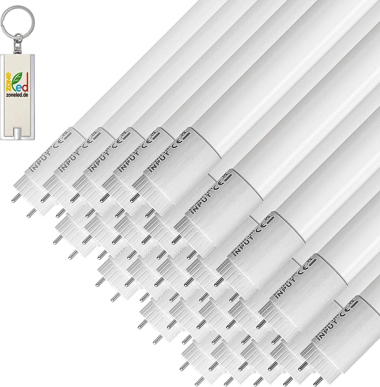 Abstrahlwinkel 160/° ZONE LED SET 18W Entspricht 36W 6400K 120cm LED R/öhren - 1700 Lm Weisses Licht 5-er Pack