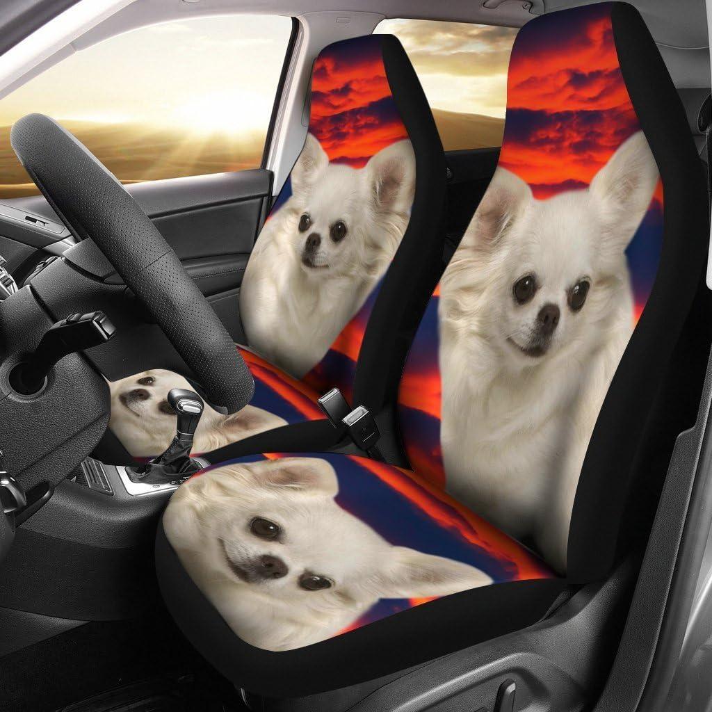 Chihuahua Dog Print Car Seat Covers