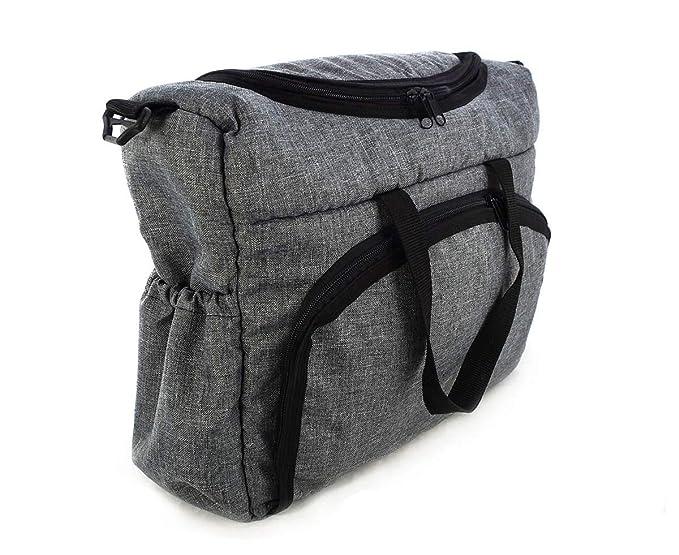 Bolso Para silla de paseo organizador Bolsa para pañales Gray gris [059]: Amazon.es: Bebé