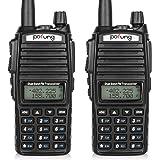 BaoFeng Pofung UV-82 Dual Band Two-Way Radio 136-174MHz VHF & 400-520MHz UHF (Black)