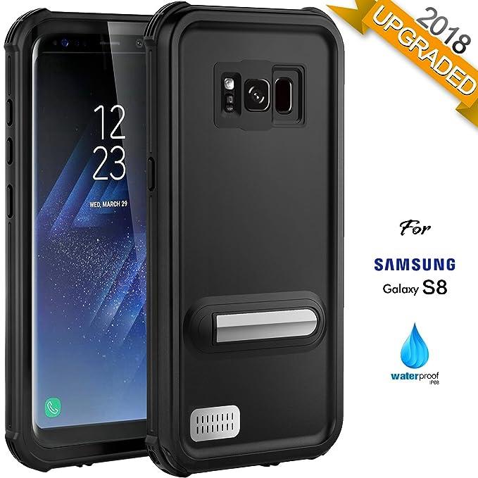 nuovo arrivo 369a8 a0b34 Custodia per cellulare Samsung S8 - IP68 Impermeabile per Samsung S8  Accessori di ASAKUKI, Custodia completa per il corpo con schermo protettivo  ...