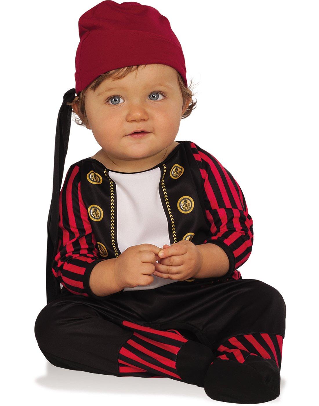 Rubies Costume Pirate Cutie Costume, Infant, Multicolor
