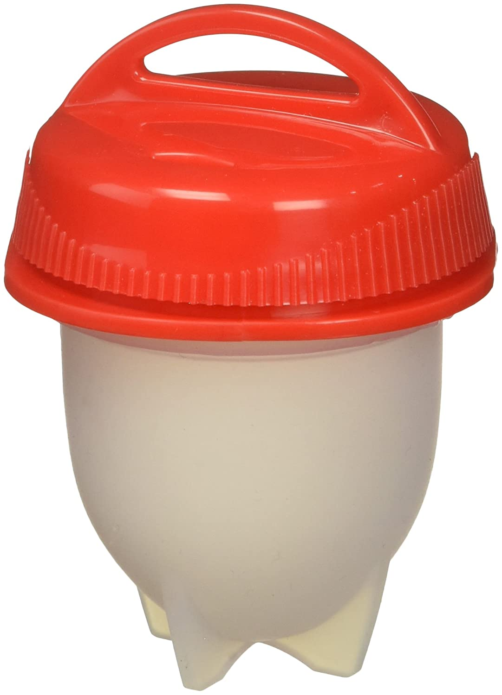 SigmaGo Egglette Egg Cooker Egglets Eggies Hardboiled System Cups-Silicone Bites Molds (6 Pack)